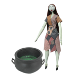 Nightmare before Christmas Deluxe Coffin Doll Cauldron Sally 36 cm