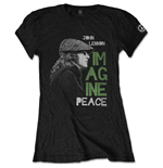 John Lennon Ladies Tee: Imagine Peace