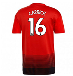 2018-2019 Man Utd Adidas Home Football Shirt (Carrick 16)