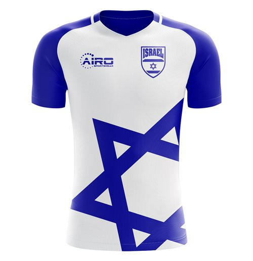 54442ed2d Buy Official 2018-2019 Israel Home Concept Football Shirt (Kids)