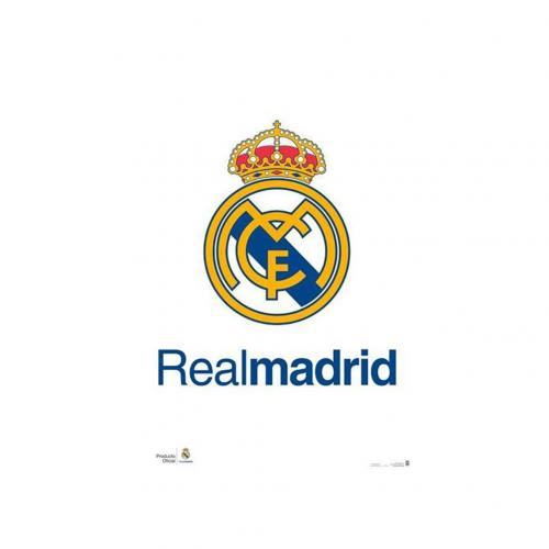 Real Madrid F.C. Poster Crest 2