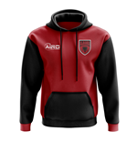 Albania Concept Country Football Hoody (Red)