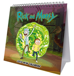 Rick & Morty Desk Easel Calendar 2019 English Version*