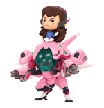 Overwatch Cute but Deadly Vinyl Figure D.Va & Meka 13 cm