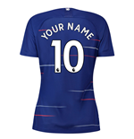 2018-2019 Chelsea Home Nike Ladies Shirt (Your Name)