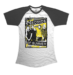 5 Seconds Of Summer: Splatter T-shirt (Women)