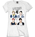 5 seconds of summer T-shirt 324801