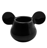 Mickey Mouse 3D Black Egg Cup