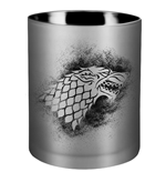 Game of Thrones Glass Candle House Stark 8 x 9 cm