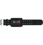 AC/DC Leather Wrist Strap: Rock or Bust