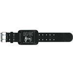AC/DC Leather Wrist Strap: For Those About To Rock
