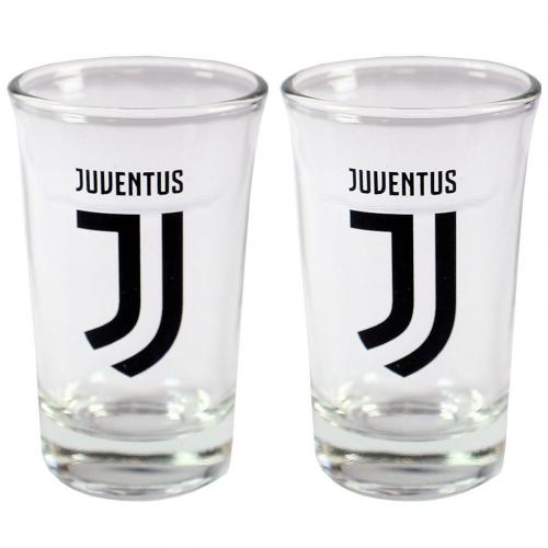 Juventus F.C. 2pk Shot Glass Set