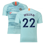 2018-19 Chelsea Third Football Shirt (Willian 22)