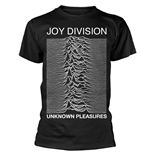 Joy Division T-shirt Unknown Pleasures (BLACK)