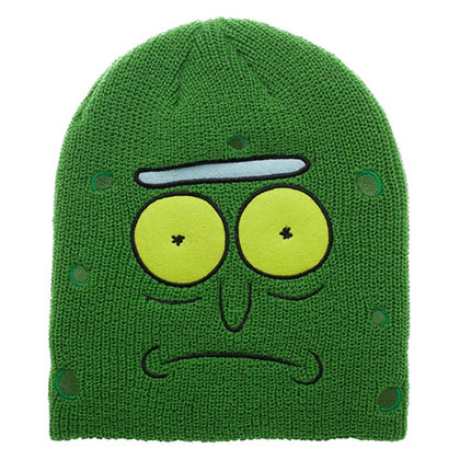 Rick and Morty Pickle Rick Beanie Winter Hat