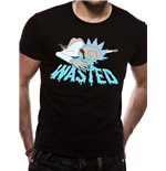 Rick And Morty - Wasted - Unisex T-shirt Black