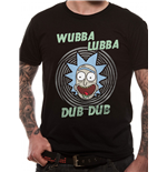 Rick And Morty - Wubba Lubba - Unisex T-shirt Black