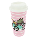 Pusheen Travel Mug Let's Go