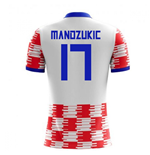 2018-19 Croatia Home Concept Shirt (Mandzukic 17) - Kids