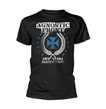 Agnostic Front T-Shirt Blue Iron Cross