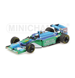 BENETTON FORD B194 MICHAEL SCHUMACHER WINNER MONACO GP W.C. F1 1994