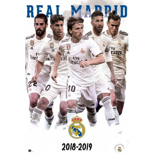 Real Madrid F.C. Poster Players 61