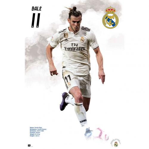 Real Madrid F.C. Poster Bale 58