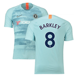 2018-19 Chelsea Third Football Shirt (Barkley 8) - Kids
