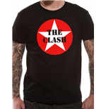 The Clash - Star Badge - Unisex T-shirt Black