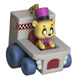 Five Nights at Freddy's Super Racers Diecast Figure Golden Freddy 5 cm