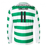 2018-2019 Celtic Home Long Sleeve Shirt (Sinclair 11)
