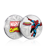 Marvel Collectable Coin Spider-Man (silver plated)