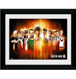 Doctor Who: Regenerate (30x40cm) Framed Picture
