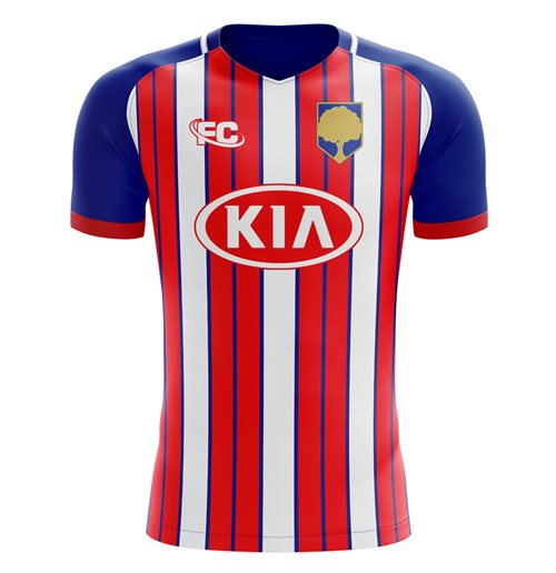 2018-2019 Atletico Madrid Fans Culture Home Concept Shirt