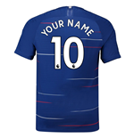 2018-2019 Chelsea Nike Vapor Home Match Shirt (Your Name)