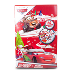 DISNEY Cars Christmas Advent Calendar with 24 Surprises