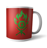 Magic the Gathering Mug Gruul