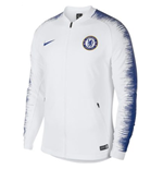 2018-2019 Chelsea Nike Anthem Jacket (White)