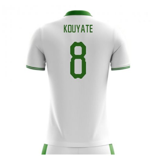 2018-2019 Senegal Home Concept Football Shirt (Kouyate 8)