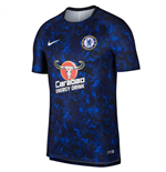 2018-2019 Chelsea Nike Pre-Match Training Shirt (Hyper Cobalt)