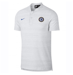 2018-2019 Chelsea Nike Authentic Grand Slam Polo Shirt (White)