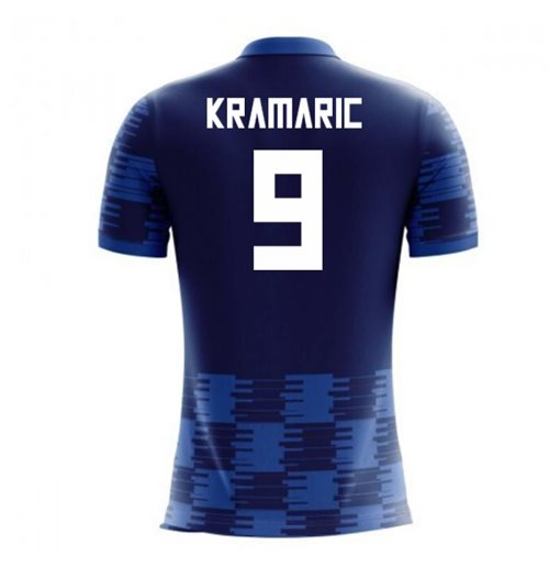 2018-19 Croatia Away Concept Shirt (Kramaric 9)