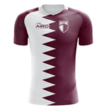 2018-2019 Qatar Home Concept Football Shirt