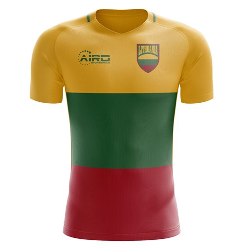 2018-2019 Lithuania Home Concept Football Shirt