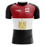 2018-2019 Egypt Flag Concept Football Shirt