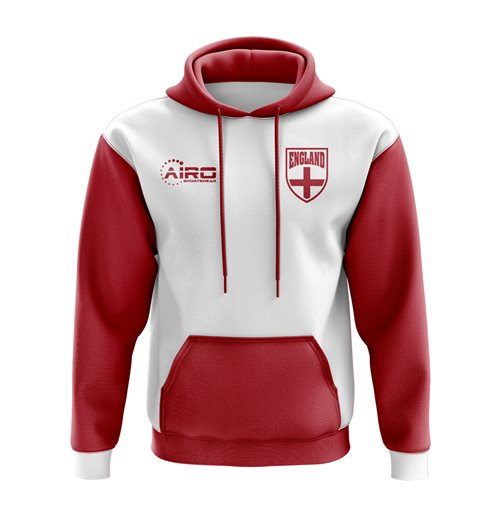 England Concept Country Football Hoody (White)