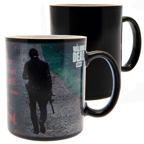 The Walking Dead Heat Changing Mug Quote