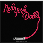 New York Dolls Standard Patch: Lipstick Logo (Loose)