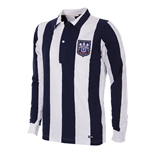 West Bromwich Albion 1953 - 54 Long Sleeve Retro Football Shirt