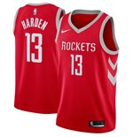 Men's Houston Rockets James Harden Nike Red Icon Edition Swingman Jersey